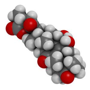 Ganoderic Acid A Molecule 300x300 - Reishi Mushroom - Ganoderma lucidum